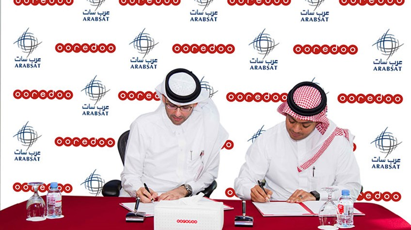 Ooredoo and Arabsat Sign Major Agreement on Satellite Communications