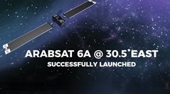 New Satellite Arabsat 6A @30.5°E Successfully Launched