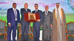 League of Arab States Secretary-General Honors Arabsat CEO